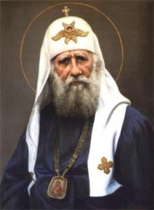 Патриарх Тихон. Портрет работы Виктора Шилова.